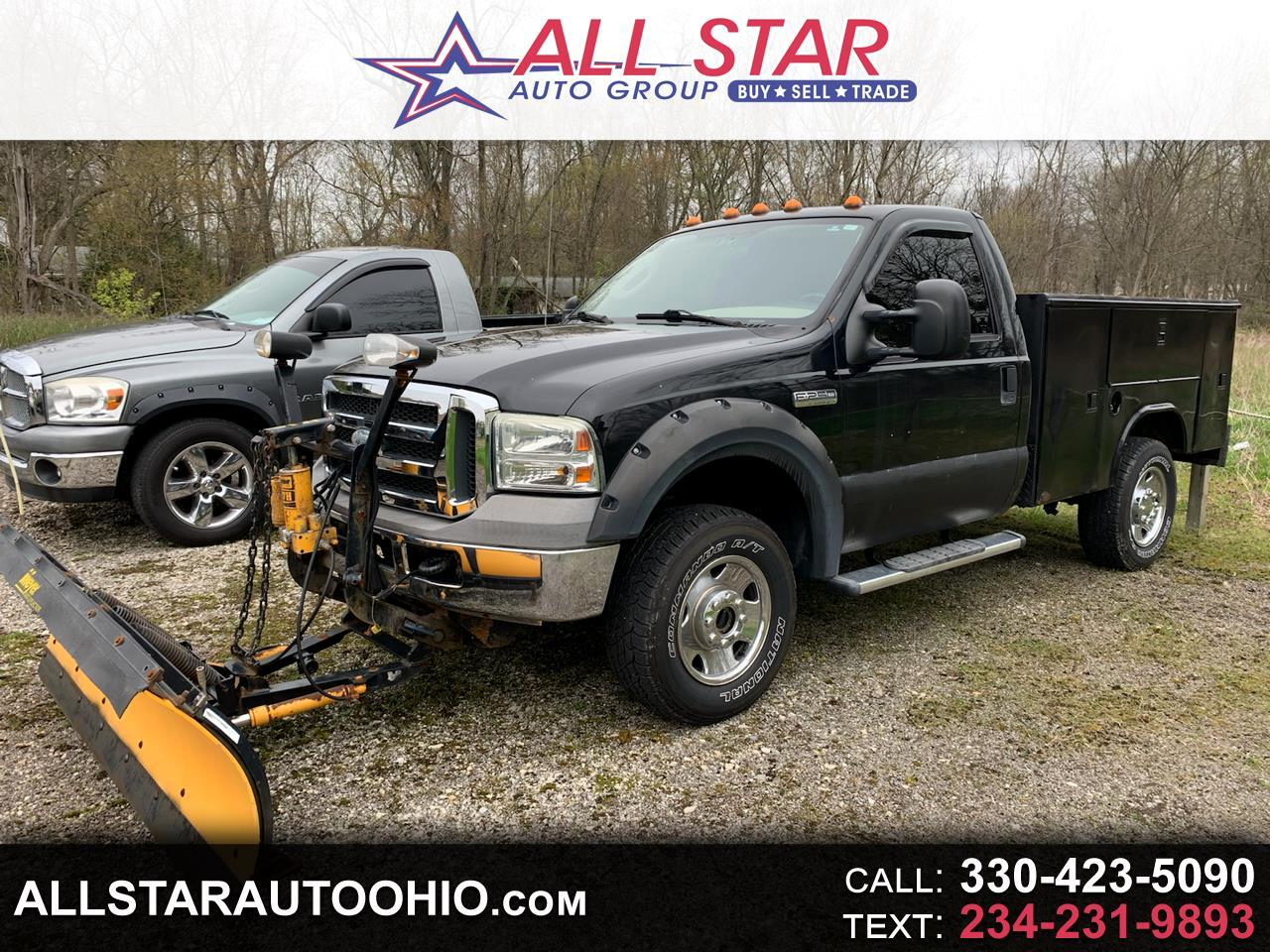 "Ford Super Duty F-250 Reg Cab 137"" XLT 4WD 2005"