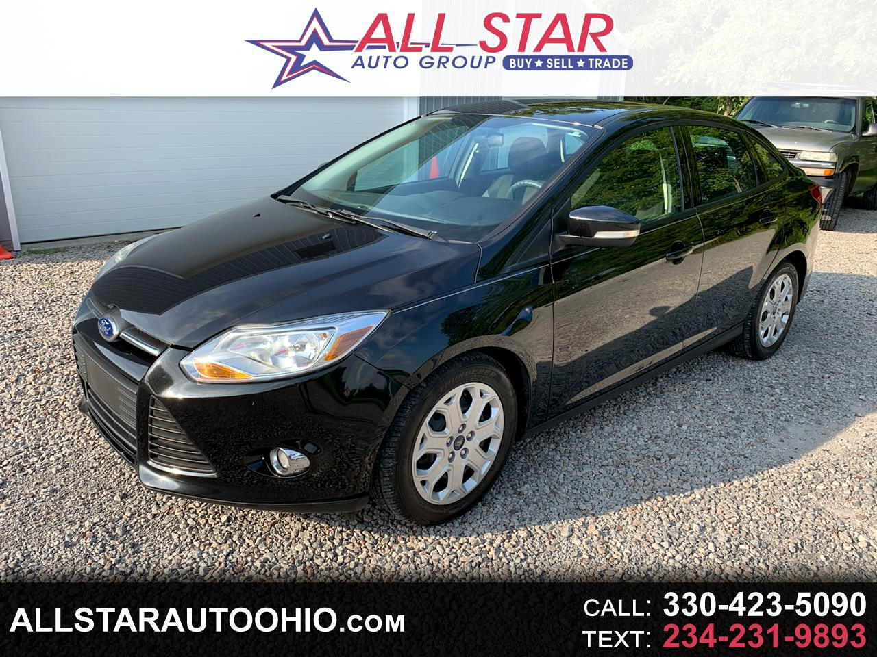 Ford Focus 4dr Sdn SE 2012