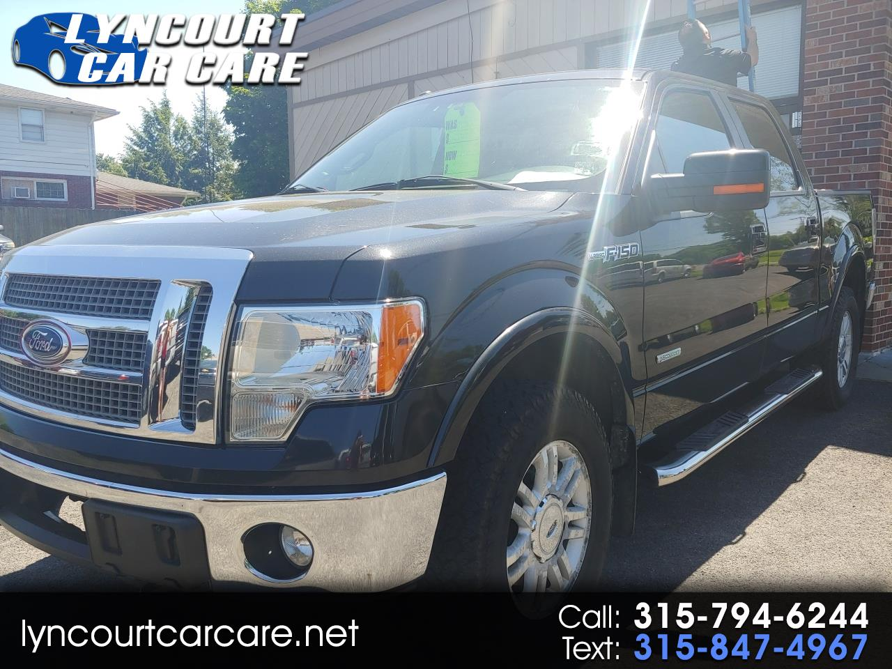 "Ford F-150 4WD SuperCrew 139"" Lariat 2012"
