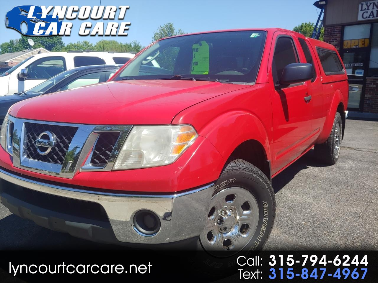 Nissan Frontier 4WD Crew Cab LWB Auto SE *Late Avai 2010