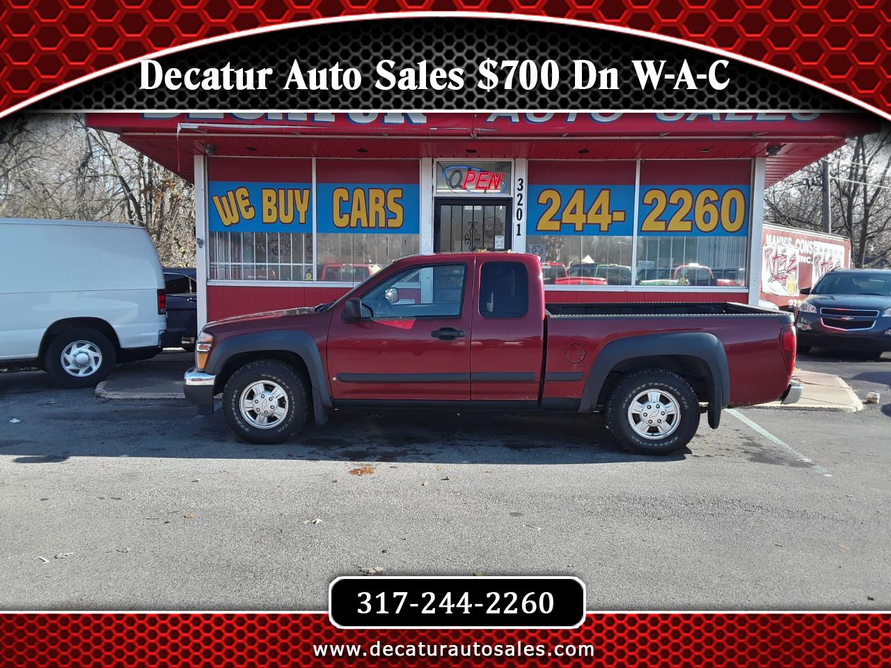 2006 GMC Canyon SL Ext. Cab 2WD