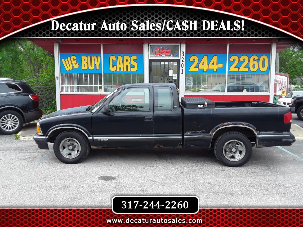 Chevrolet S10 Pickup LS Ext. Cab Short Bed 2WD 1995