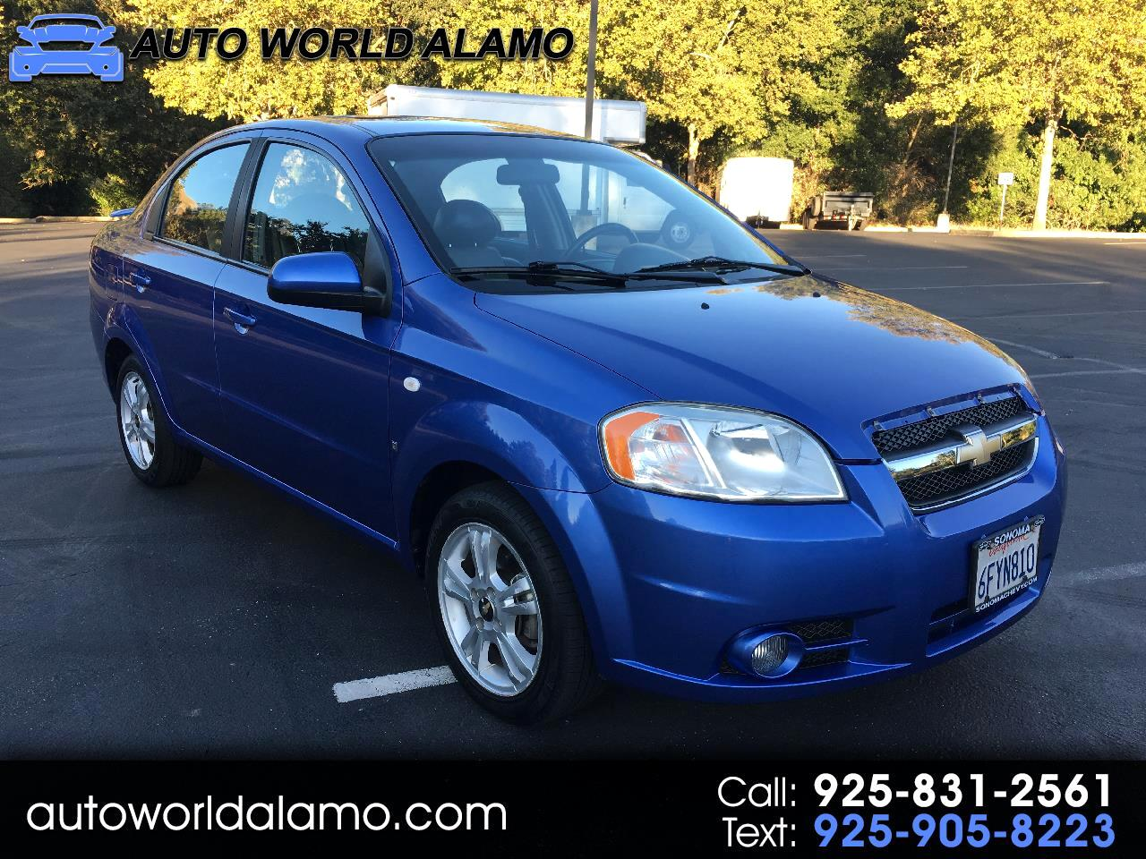 2008 Chevrolet Aveo 4dr Sdn LS