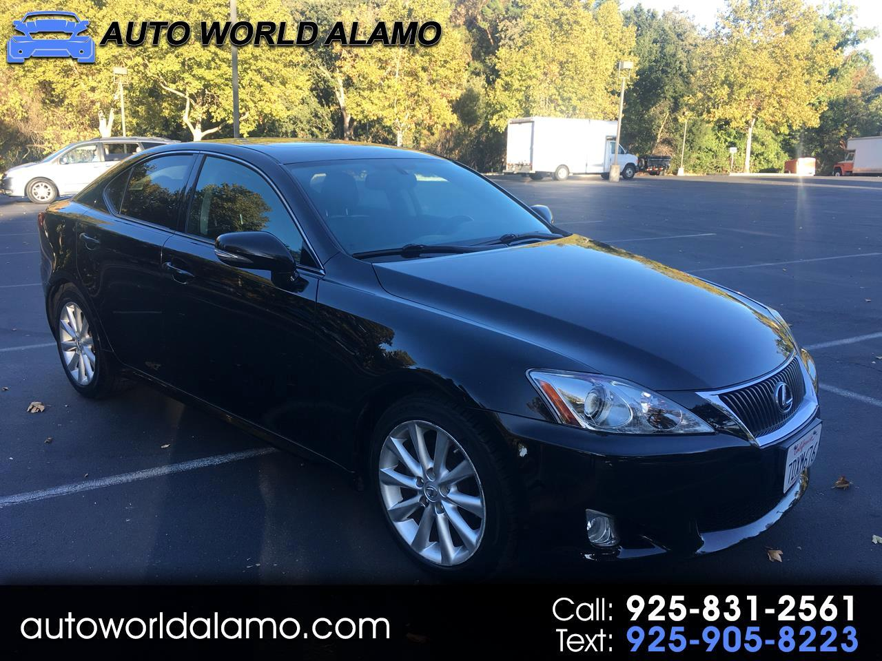 Lexus IS 250 4dr Sport Sdn Man RWD 2010