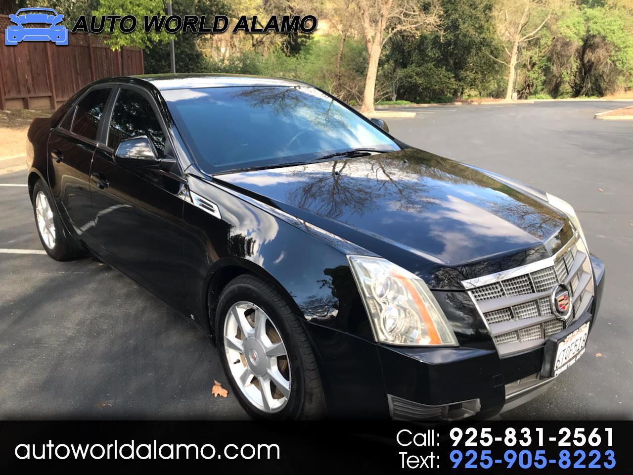 Cadillac CTS 4dr Sdn RWD w/1SB 2009