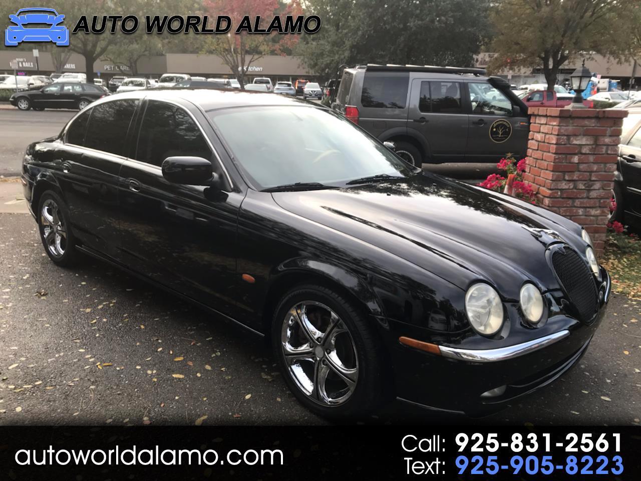 Jaguar S-Type 4dr Sdn V6 2002