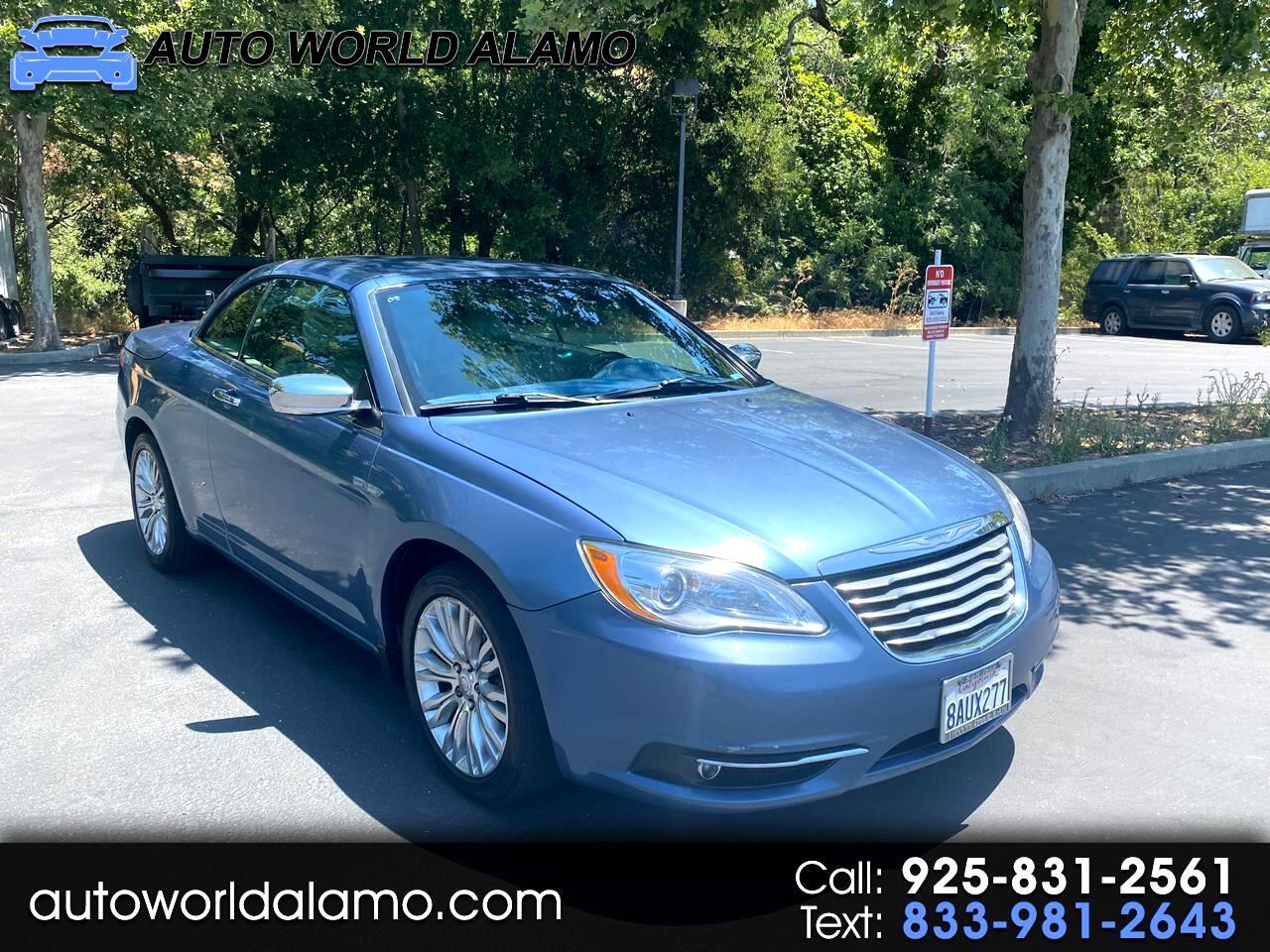 Chrysler 200 2dr Conv Limited 2011