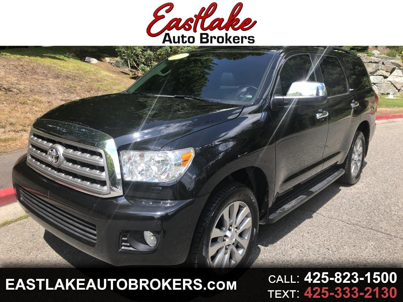 Toyota Sequoia Limited 4WD FFV 2016