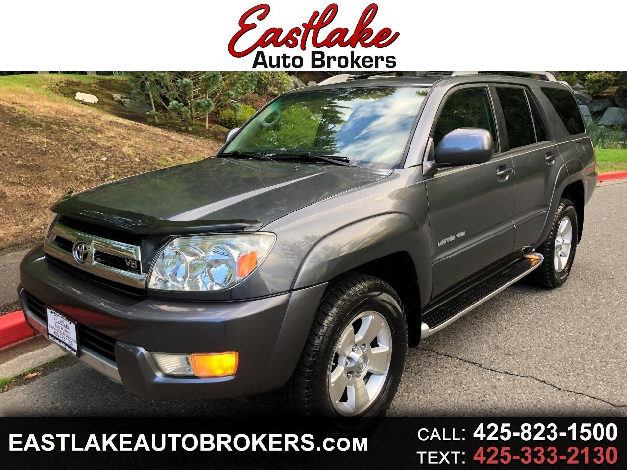 Toyota 4Runner Limited 4WD 2004