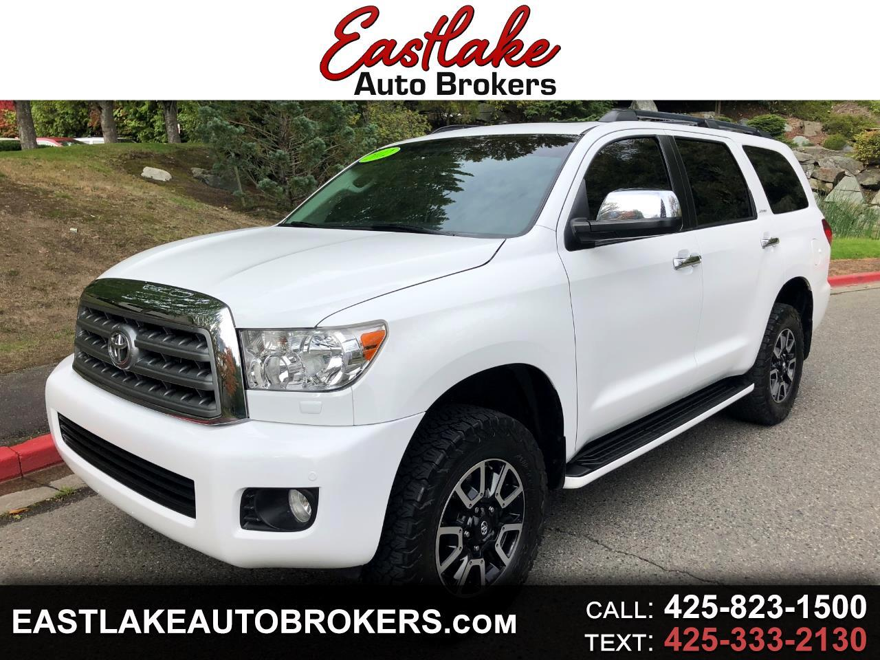 Toyota Sequoia Limited 4WD 2012