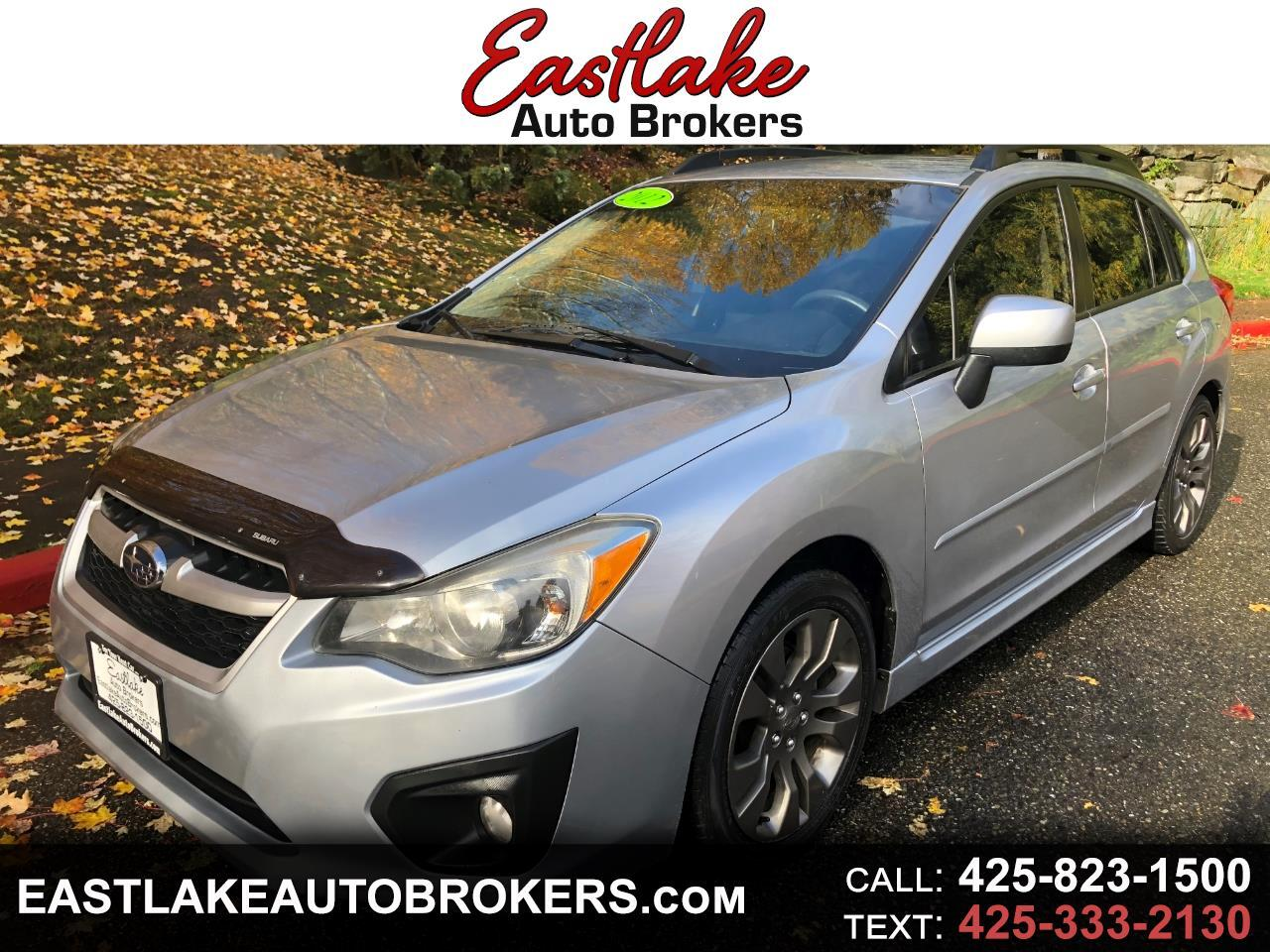Subaru Impreza 2.0i Sport Premium 2012