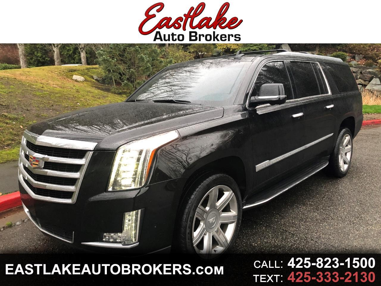 2017 Cadillac Escalade Esv Msrp >> Used 2017 Cadillac Escalade Esv Luxury 4wd For Sale In