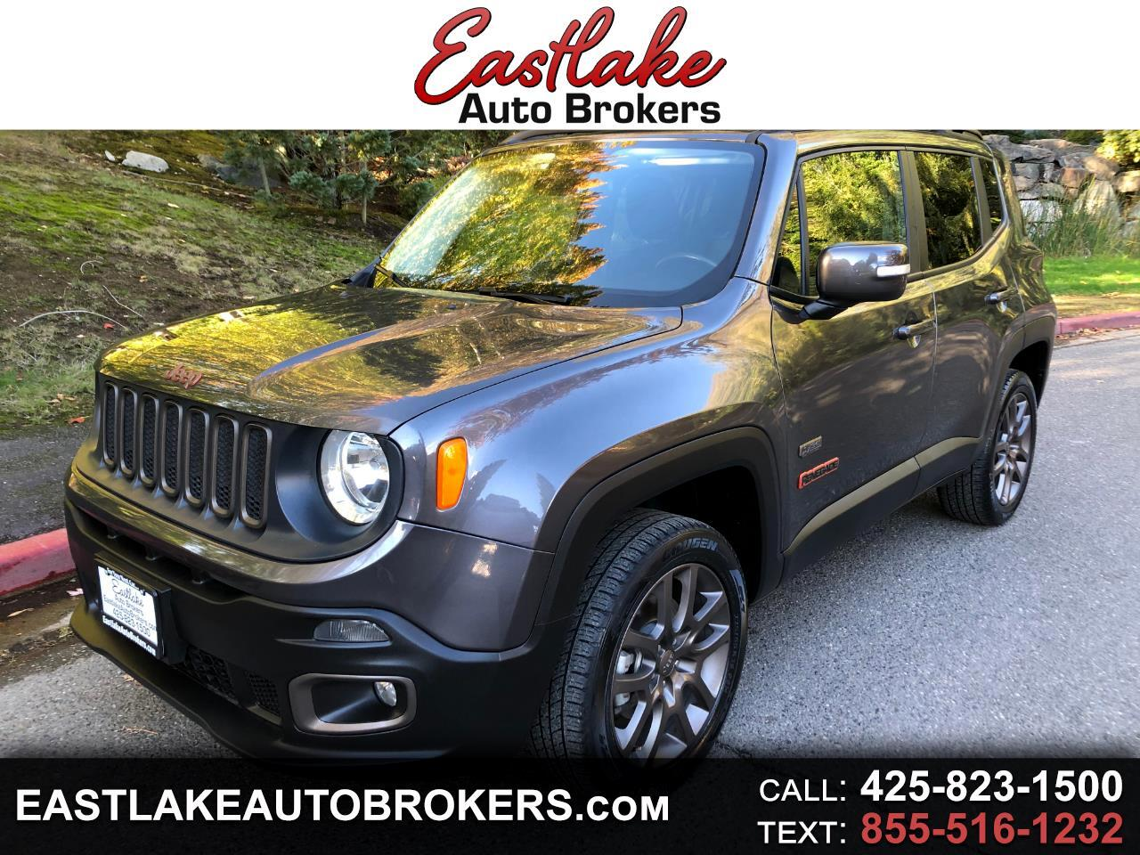 Jeep Renegade 4WD 4dr 75th Anniversary 2016