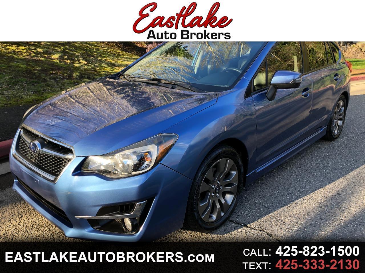 Subaru Impreza 2.0i Sport Limited PZEV 5-Door 2016