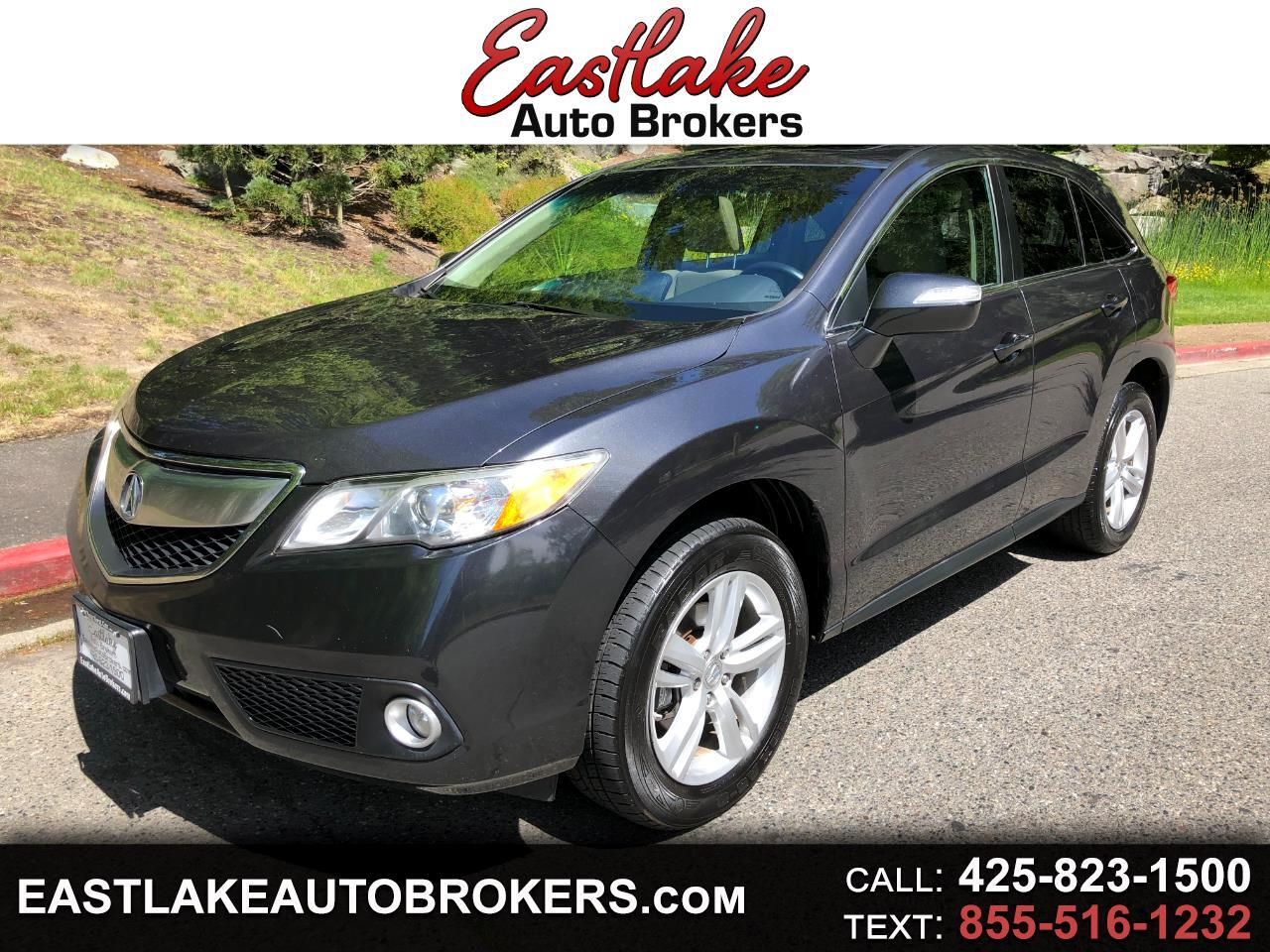Acura RDX 6-Spd AT AWD w/ Technology Package 2014