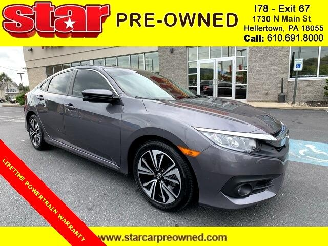 2018 Honda Civic EX-T Sedan 6M