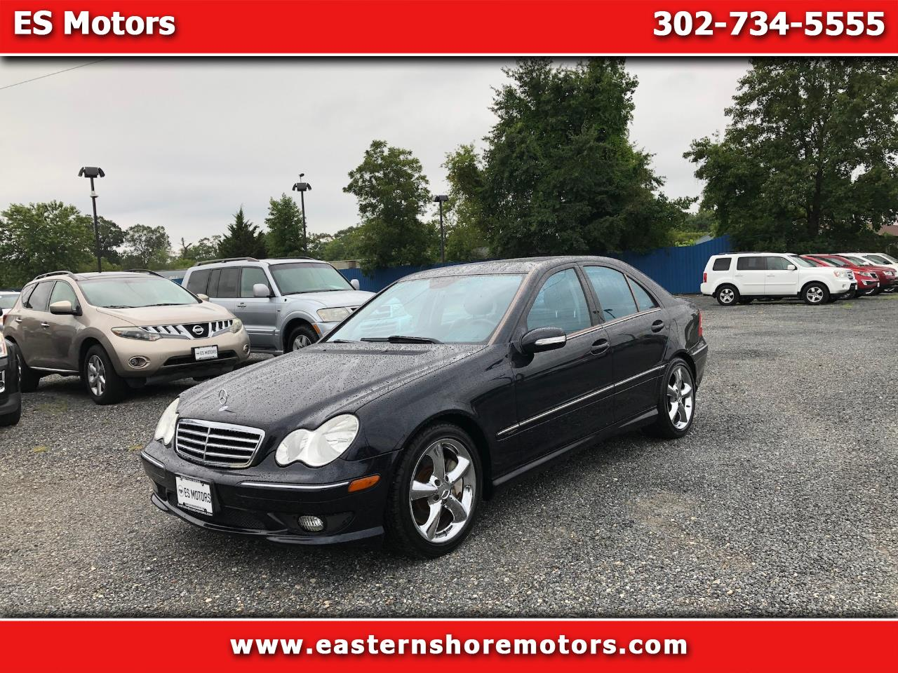 2005 Mercedes-Benz C-Class C230 K Sport Sedan