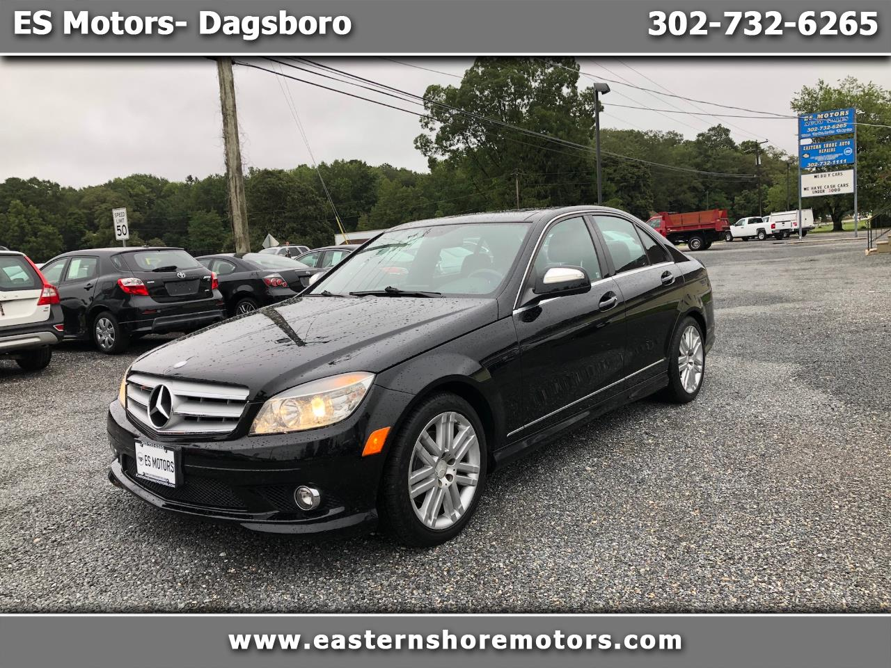 2008 Mercedes-Benz C-Class 4dr Sdn 3.0L Luxury 4MATIC