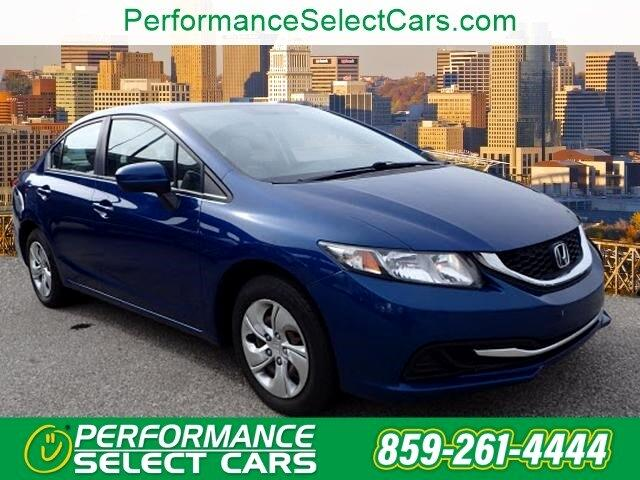 Honda Civic LX Sedan CVT 2015