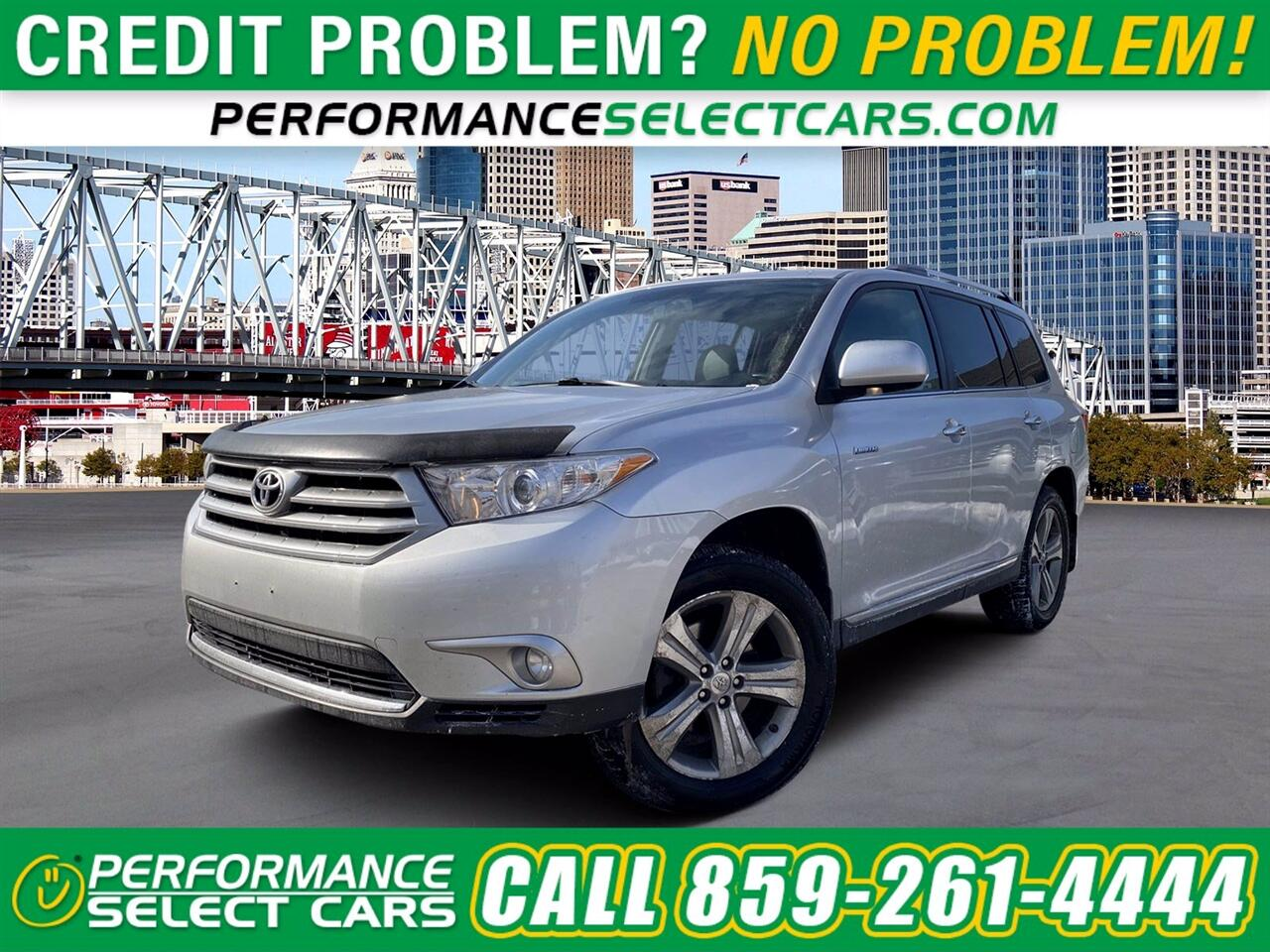 Toyota Highlander Limited 2WD 2012