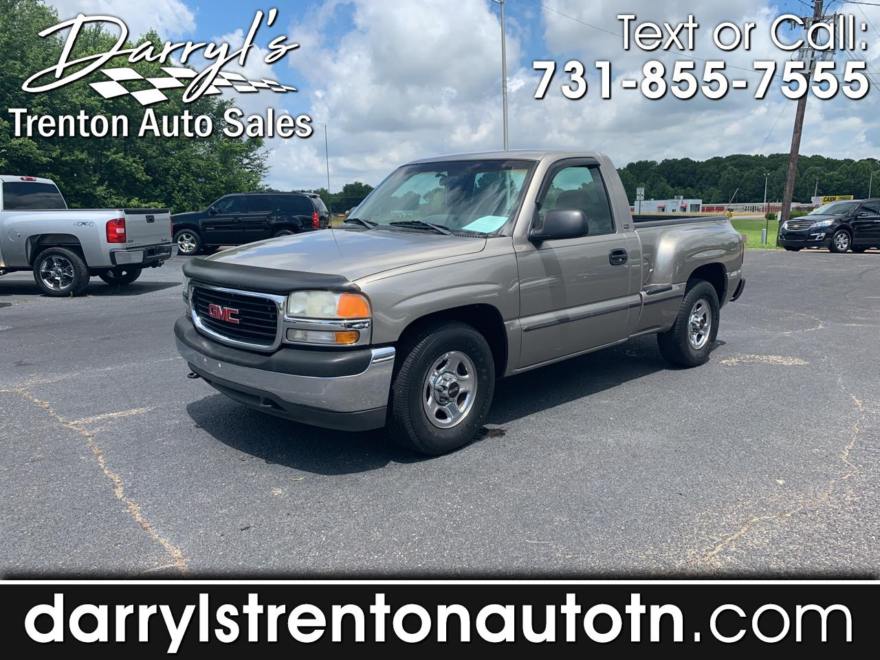 2001 GMC Sierra 1500 SL Short Bed 2WD
