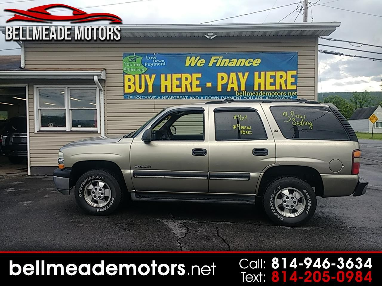 2001 Chevrolet Tahoe 4dr 4WD LS