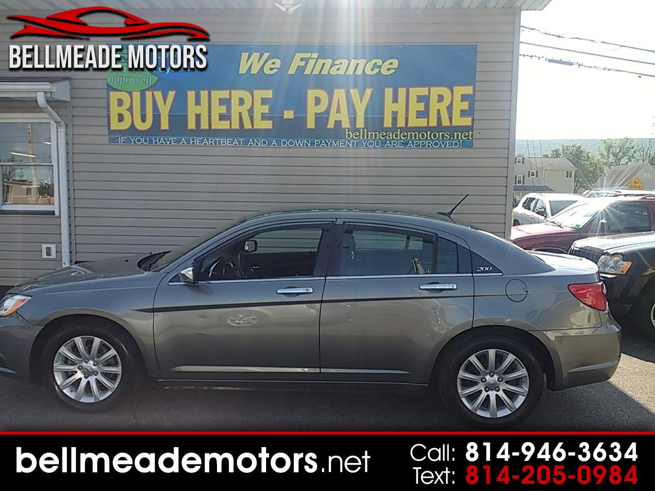 200 Down Payment Car >> Used 2013 Chrysler 200 In Altoona Pa Auto Com 1c3ccbcg2dn660577