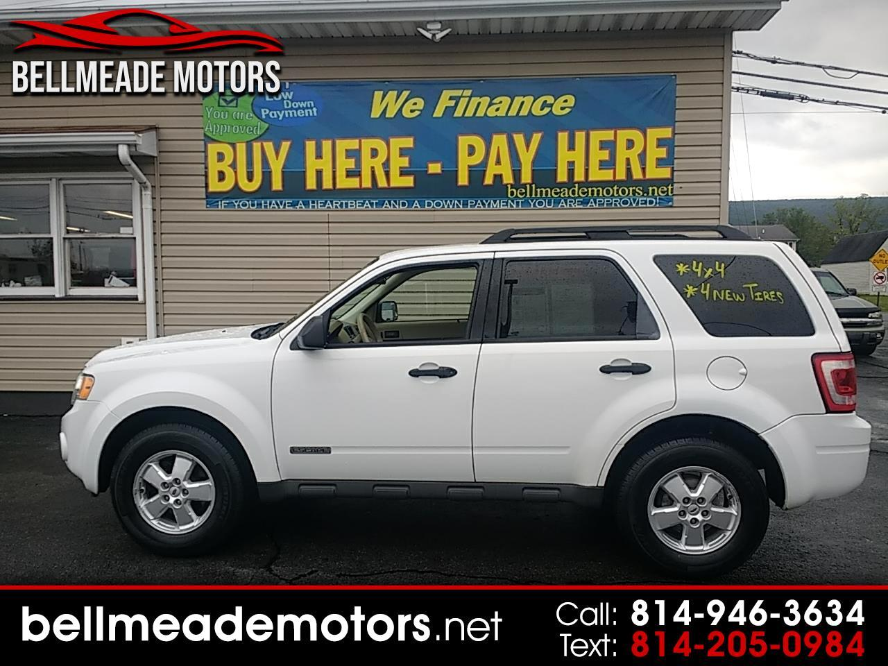 2008 Ford Escape 4WD 4dr I4 Auto XLT