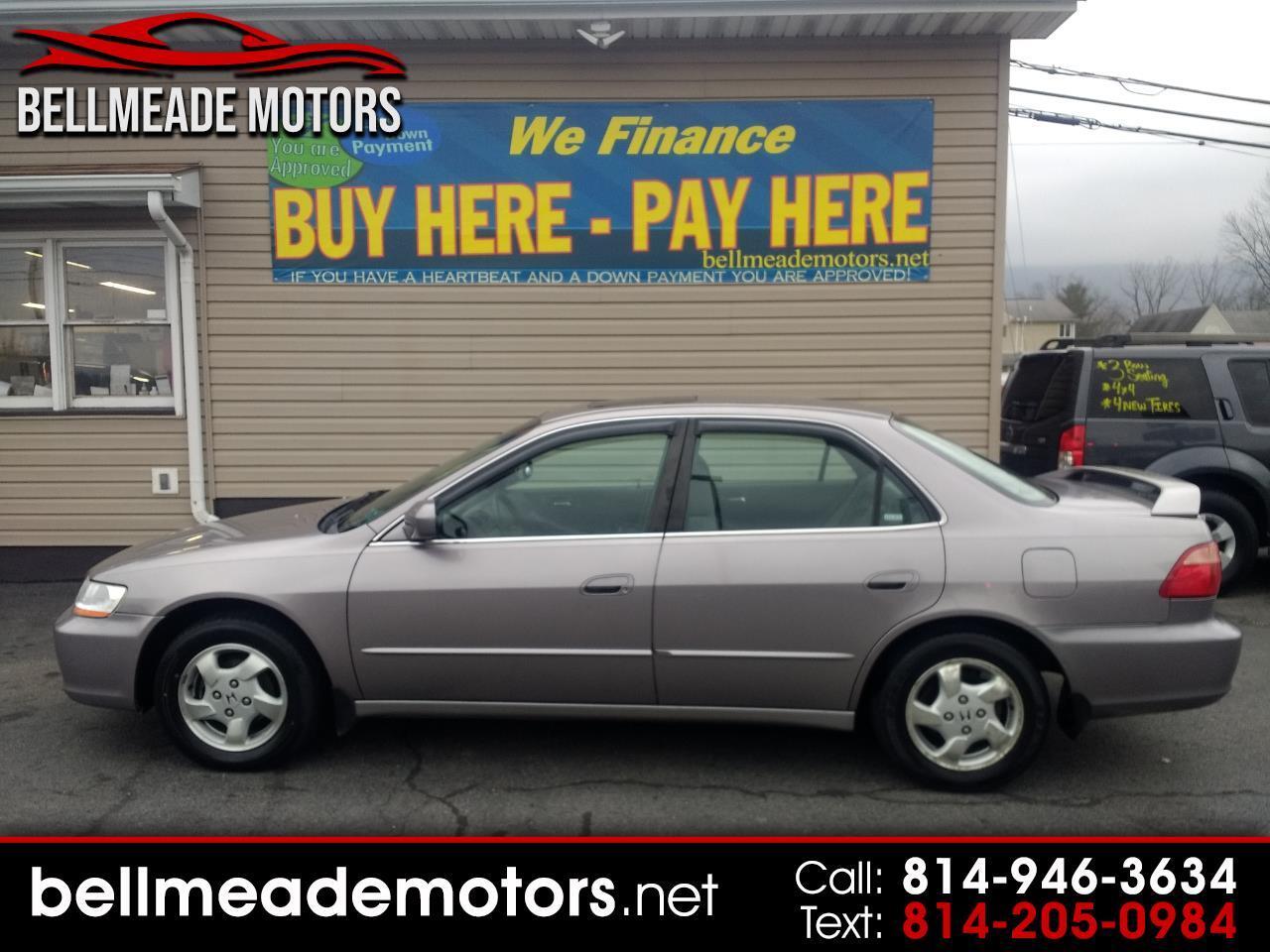 2000 Honda Accord Sdn 4dr Sdn EX Auto ULEV