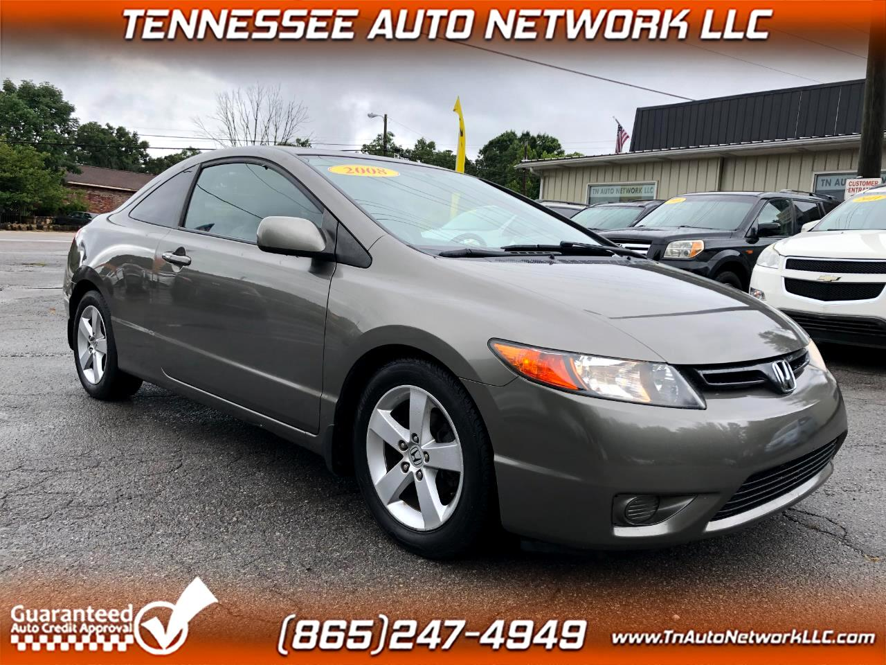 2008 Honda Civic EX-L Coupe AT