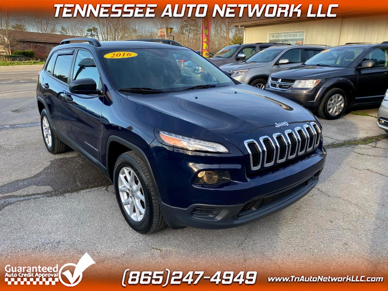 Jeep Cherokee Sport 4WD 2016