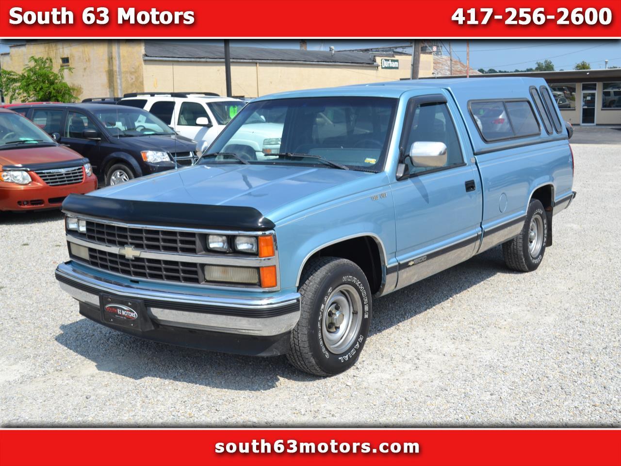 1989 Chevrolet C/K 1500 Reg. Cab 8-ft. Bed 2WD