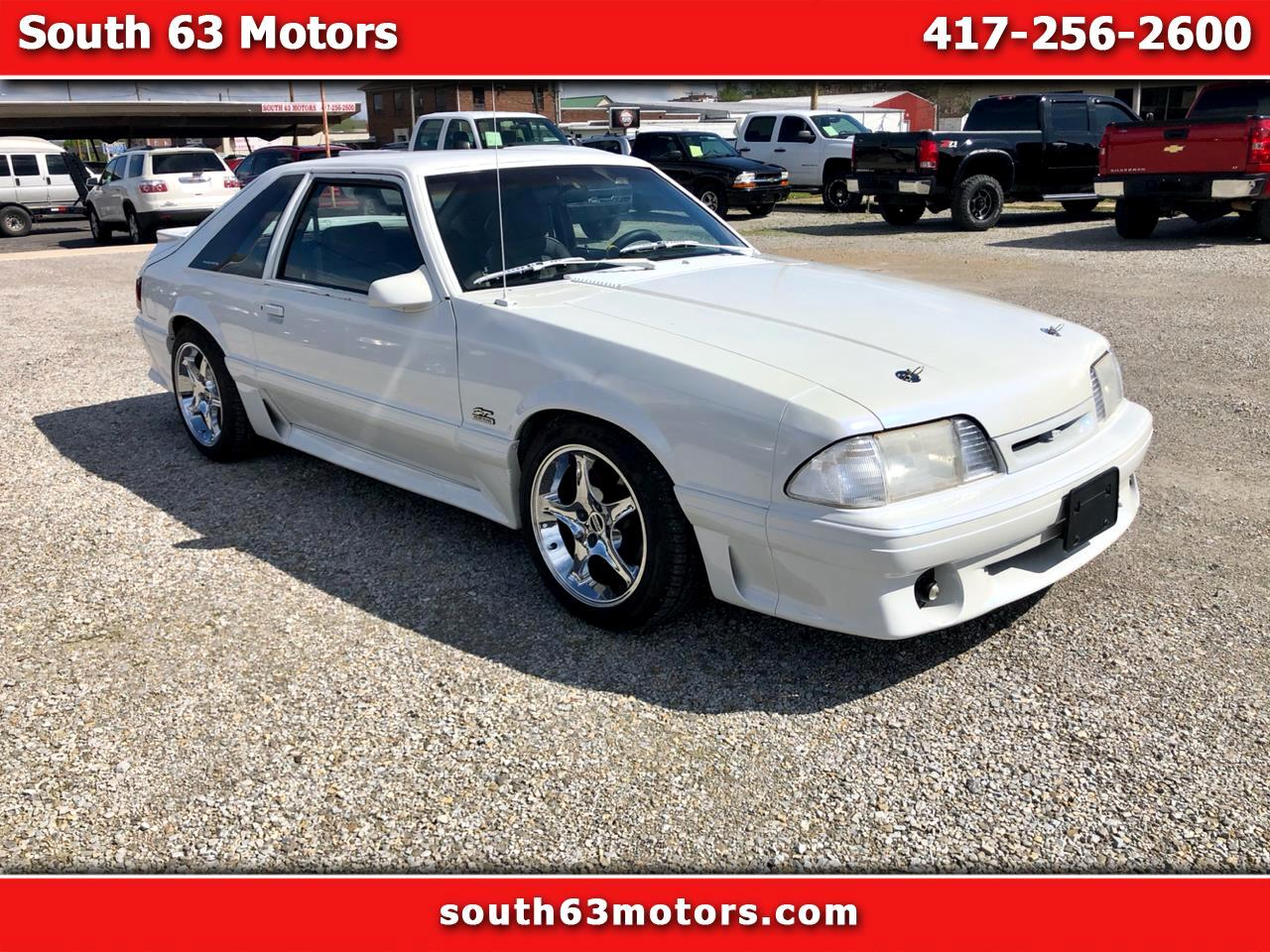 Ford Mustang GT hatchback 1991
