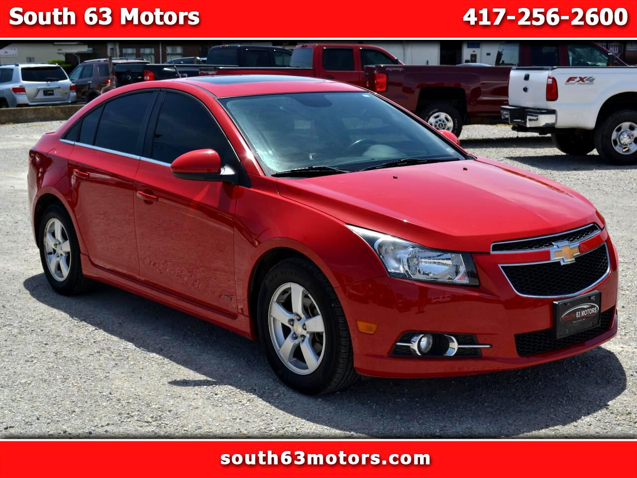 Chevrolet Cruze 1LT Manual 2012