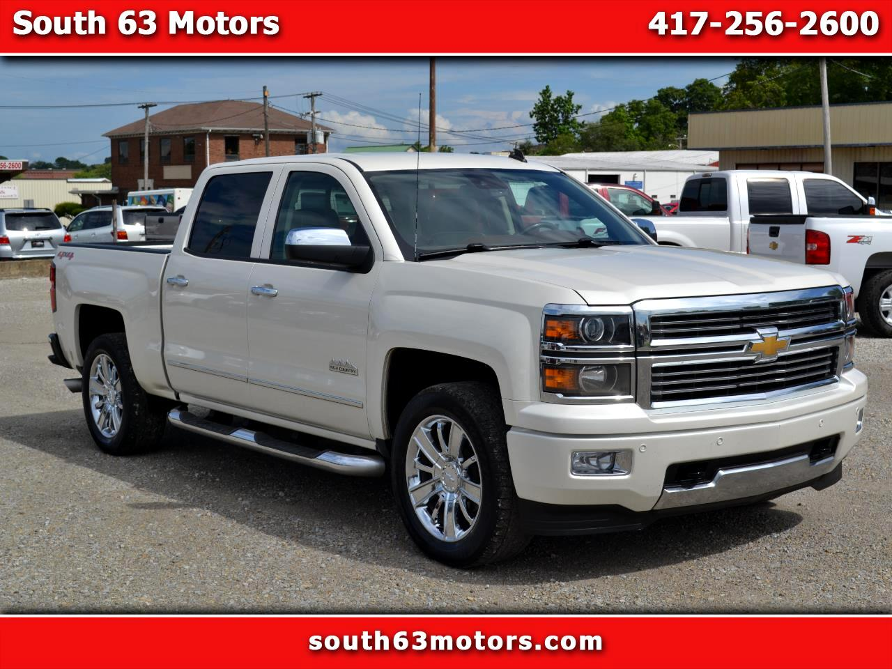 Chevrolet Silverado 1500 High Country Crew Cab 4WD 2014