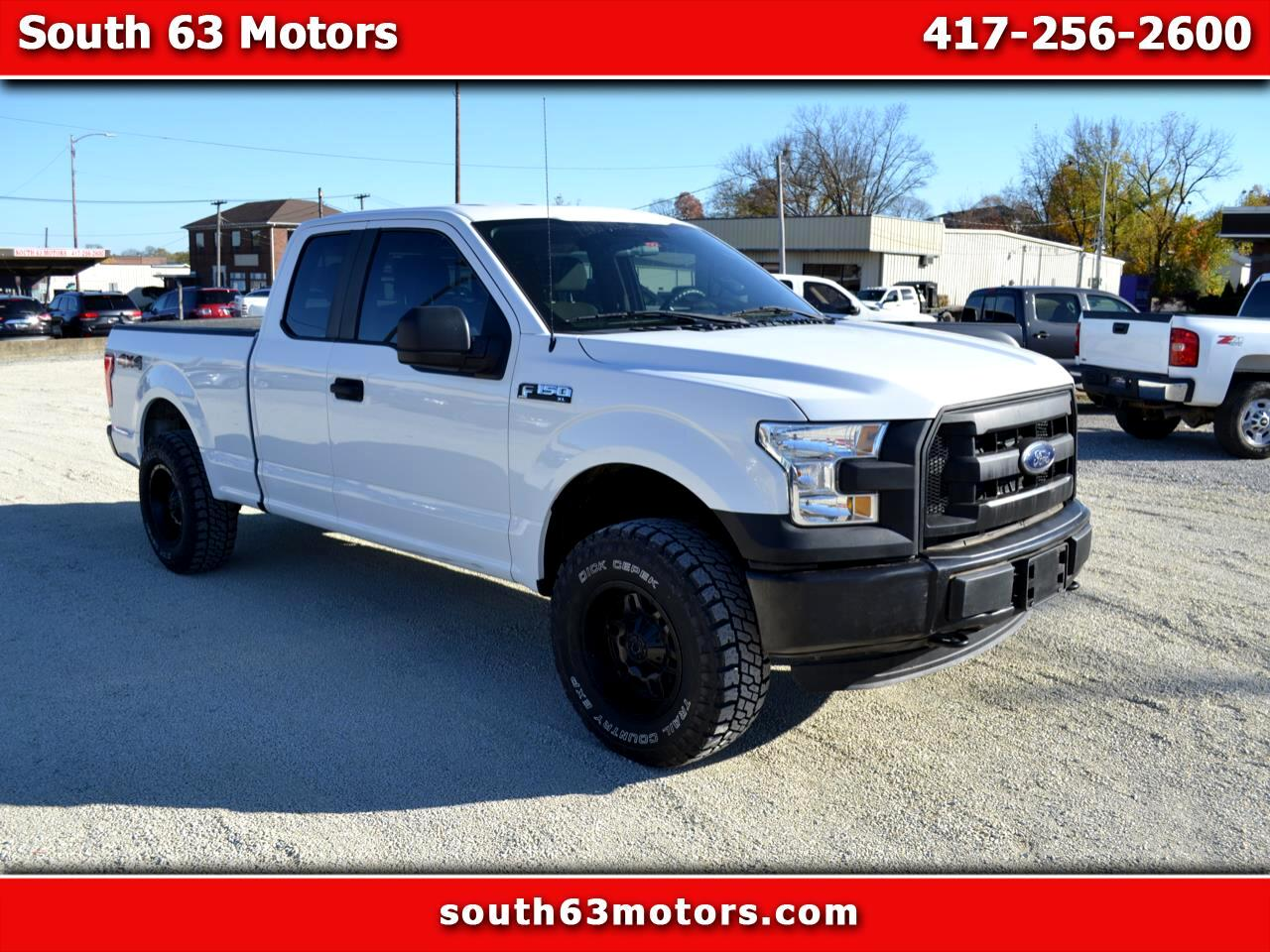 Ford F-150 XL 4WD SuperCab 6.5' Box 2016