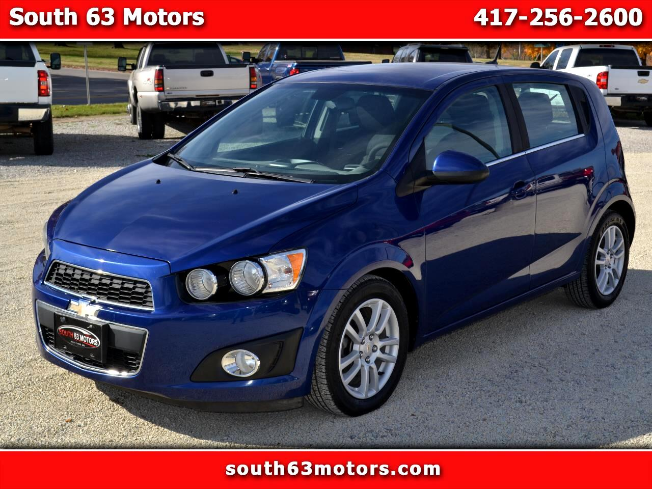 Chevrolet Sonic 2LT 5-Door 2012