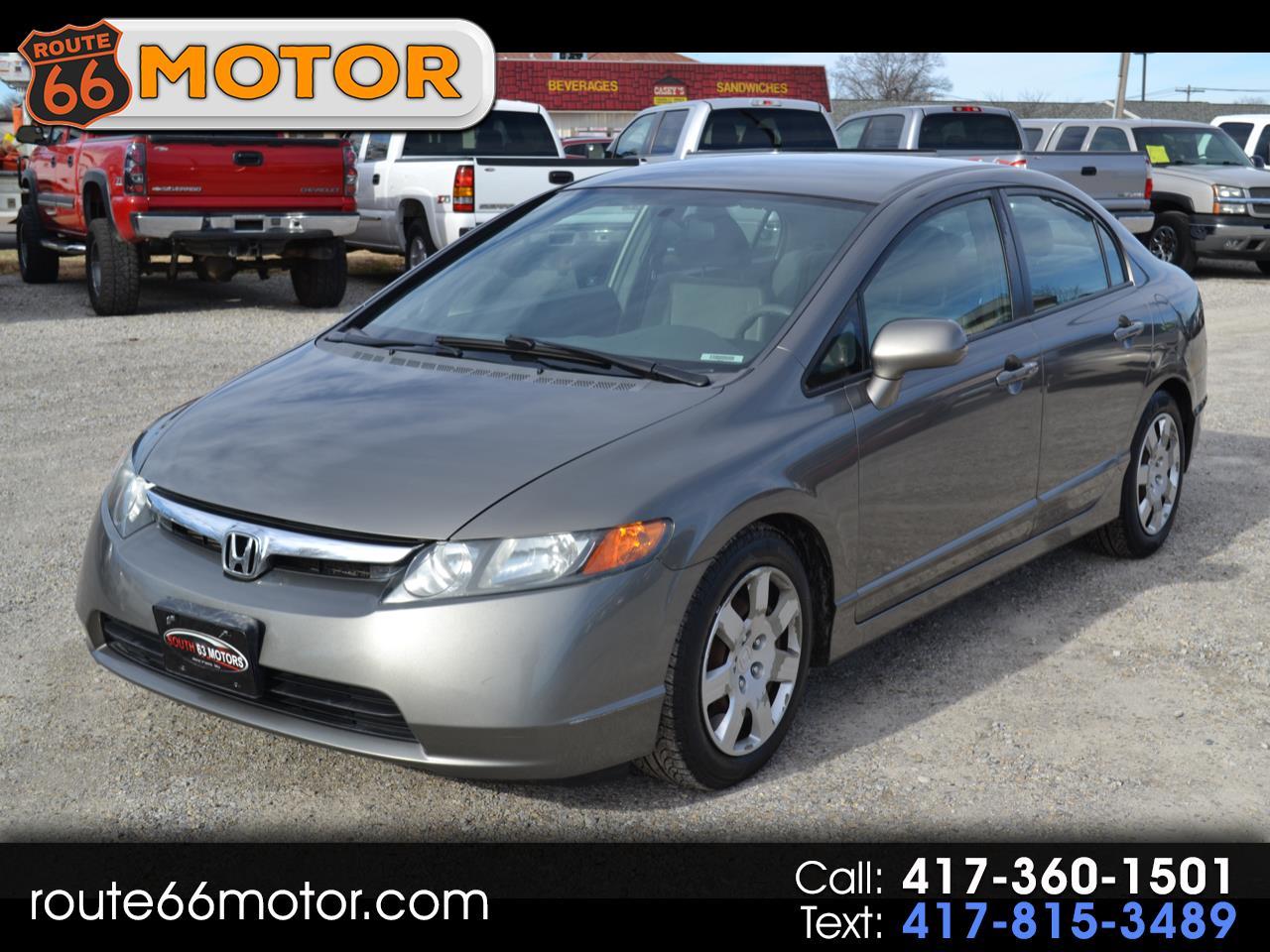Honda Civic LX sedan 2008