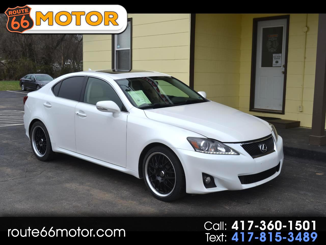 Lexus IS 250 RWD 2012