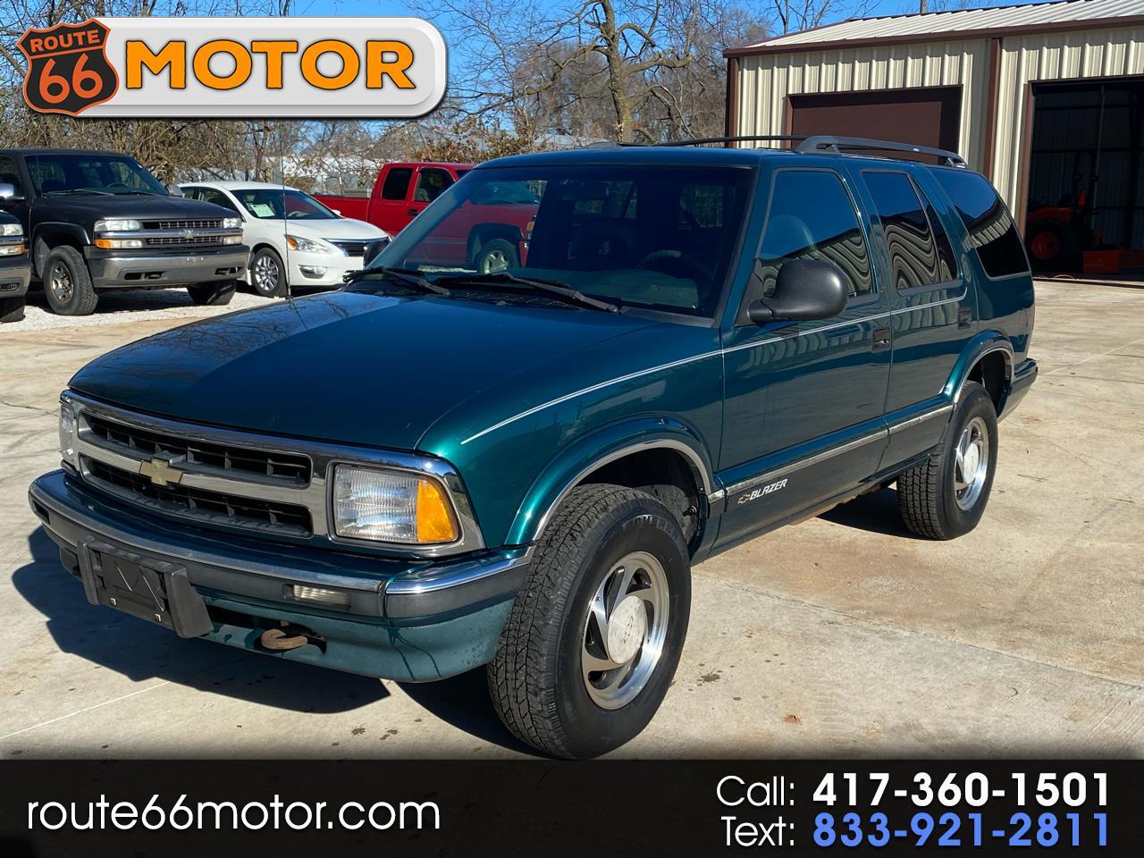 Chevrolet Blazer 4-Door 4WD 1996