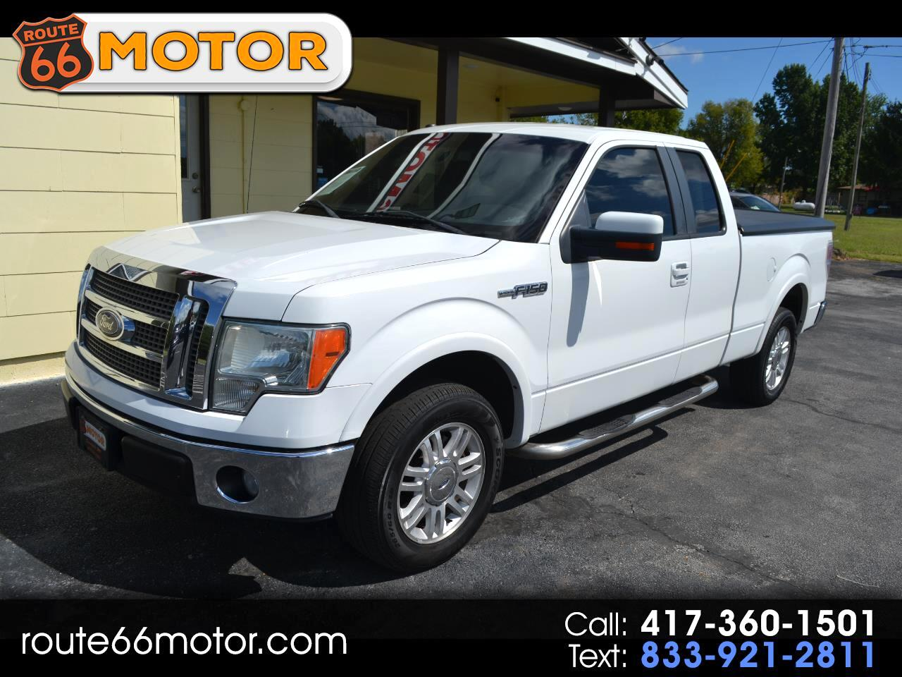 """Ford F-150 2WD SuperCab 163"""" Lariat 2010"""