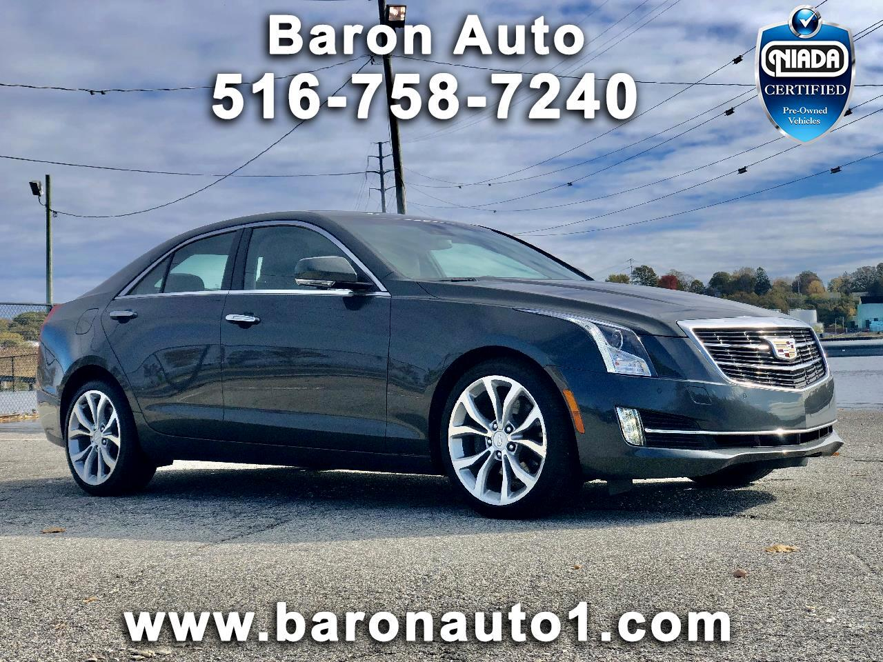 Cadillac ATS Sedan 4dr Sdn 3.6L Premium Collection AWD 2016