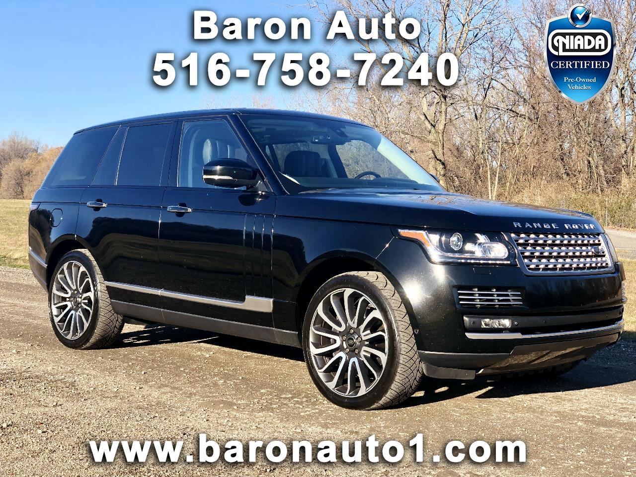 Land Rover Range Rover 4WD 4dr Autobiography 2015
