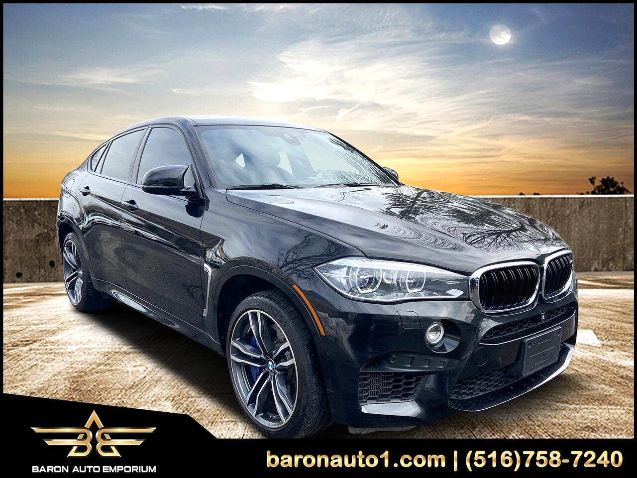 BMW X6 M Sports Activity Coupe 2017