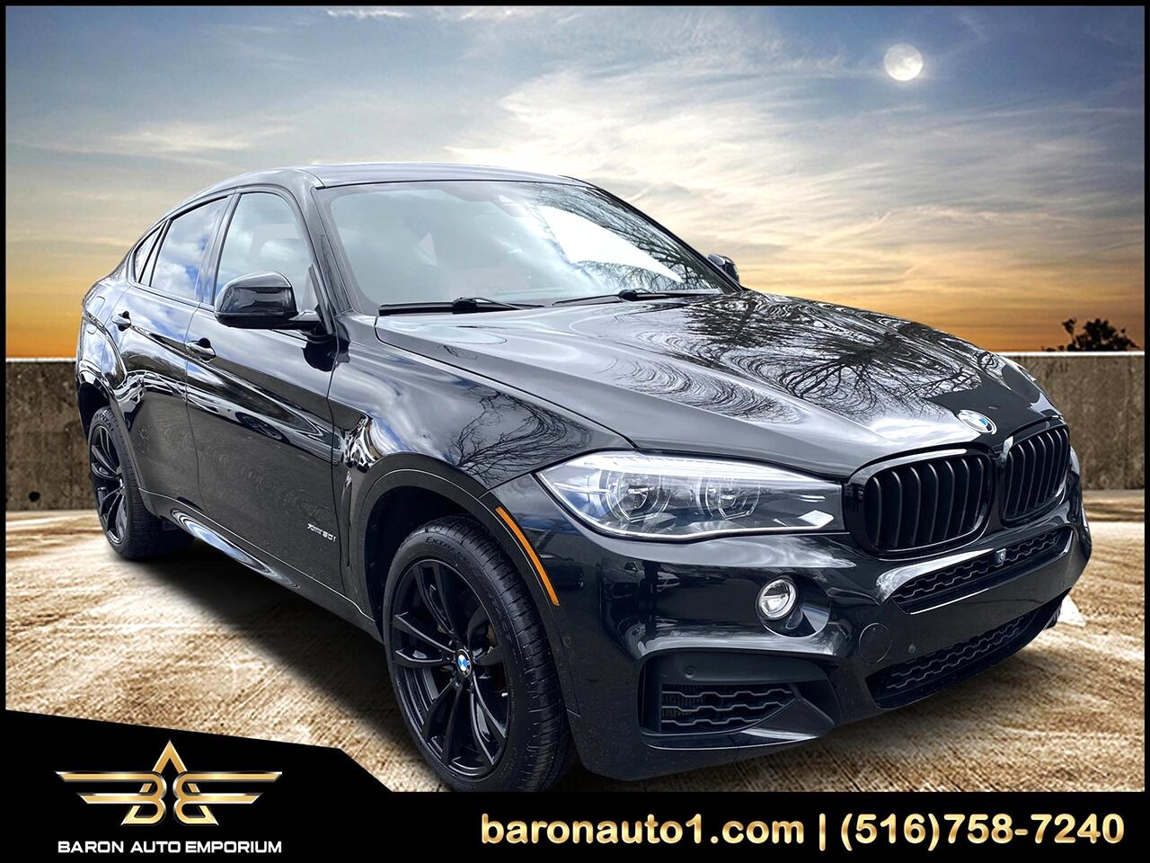 BMW X6 xDrive50i Sports Activity Coupe 2018