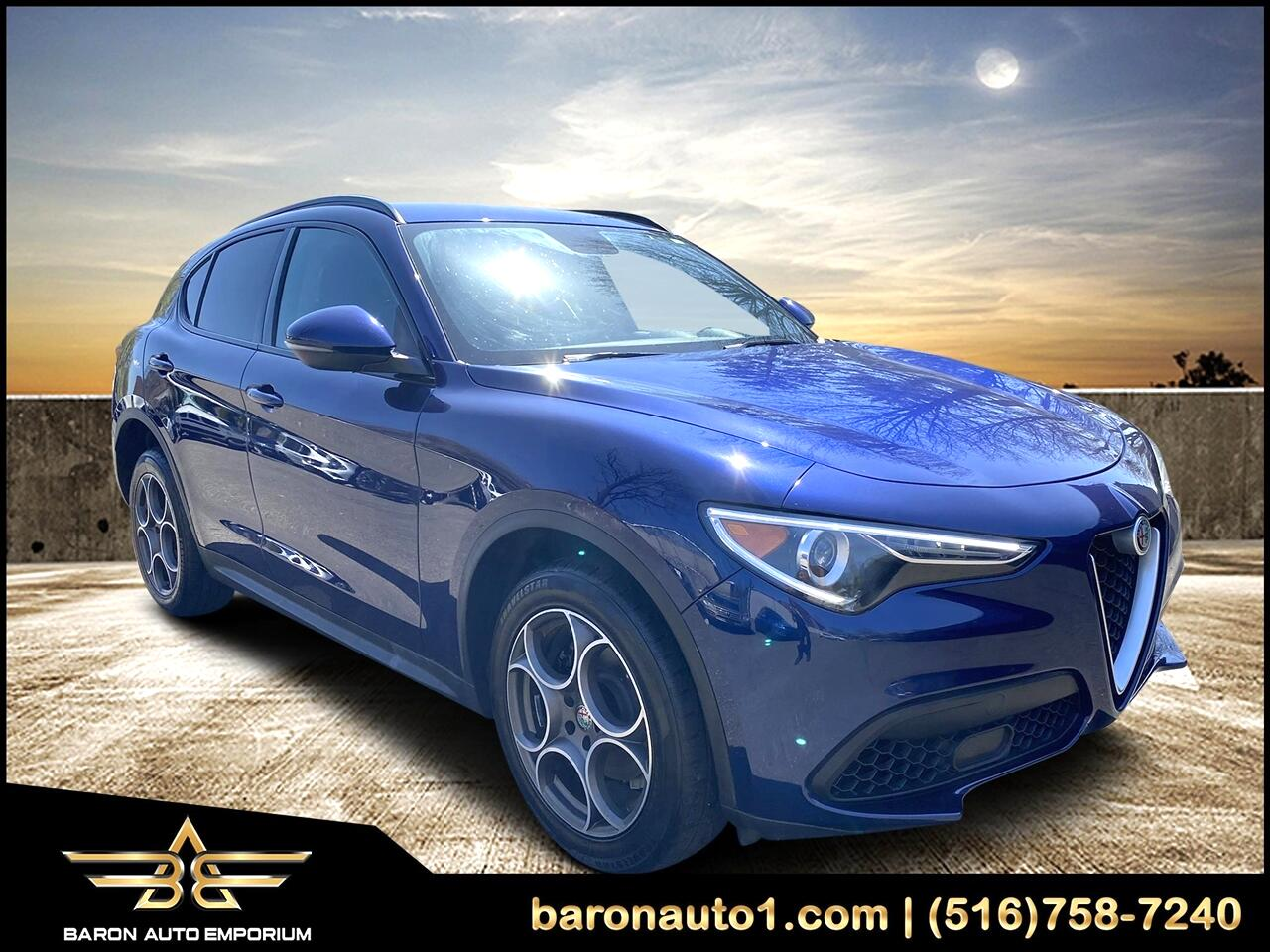 Alfa Romeo Stelvio Sport AWD 2018