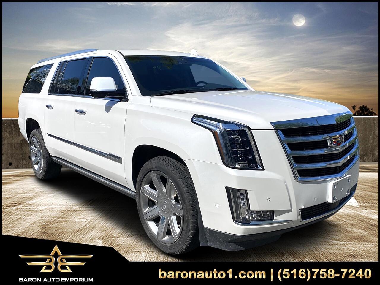 Cadillac Escalade ESV 4WD 4dr Premium Luxury 2017