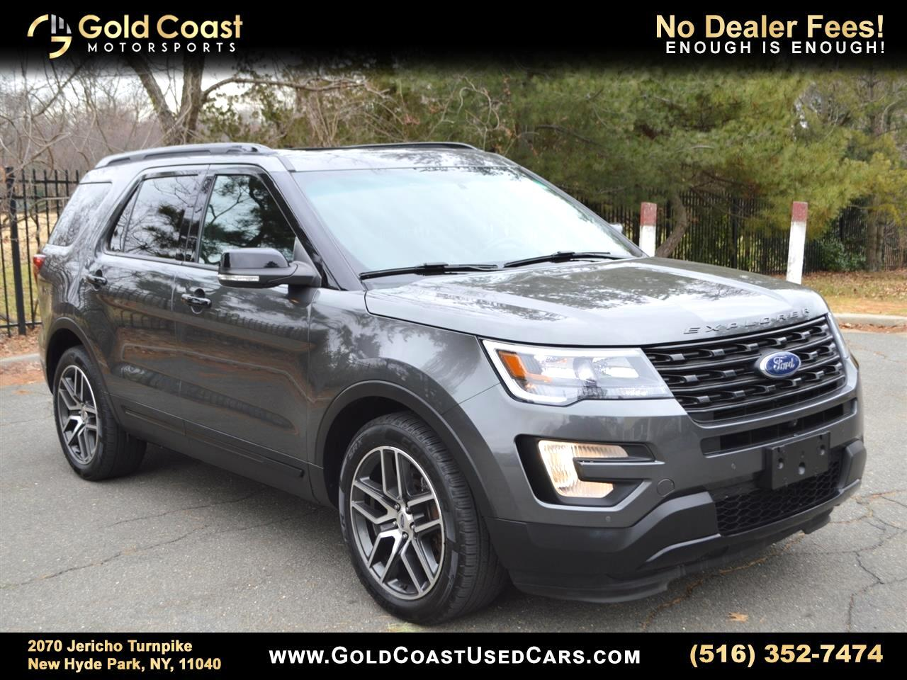 Ford Explorer Sport 4WD 2016