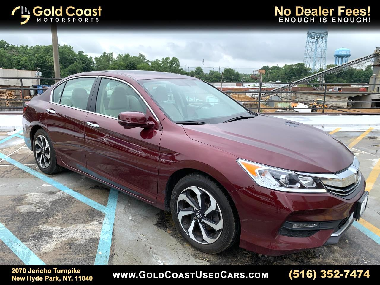 Honda Accord EX-L Sedan CVT 2016