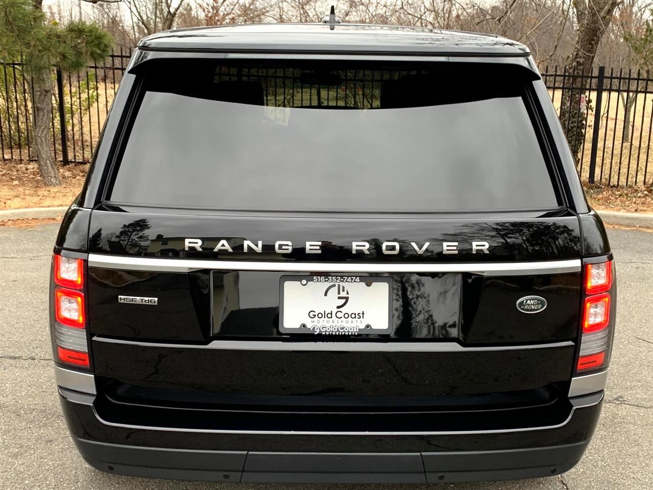 Land Rover Range Rover HSE 2016